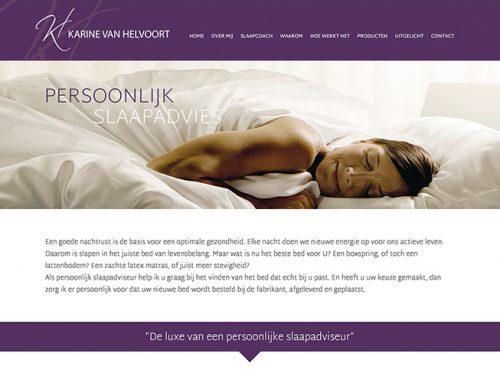 Vol trots presenteer ik mijn nieuwe website