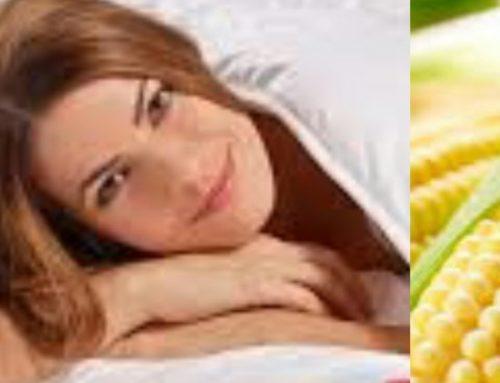 Slapen onder mais